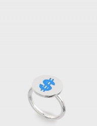 [NONENON] DOLLAR RING [SKY]
