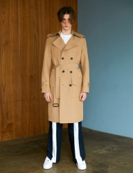 [BONNIE&BLANCHE] SURFACE TRENCH COAT (BEIGE)