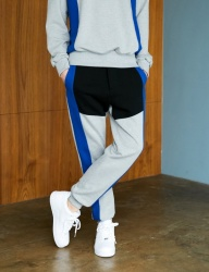 [BONNIE&BLANCHE] SPORTY LINE SWEATPANTS (GREY)