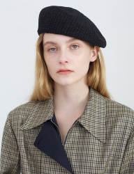 [AWESOME NEEDS] NATURAL BERET_BLACK