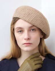 [AWESOME NEEDS] NATURAL BERET_BEIGE