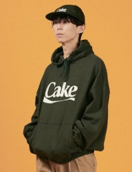 [A PIECE OF CAKE] Cake Logo Hoodie_Green