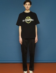 [SLOWACID] [UNISEX] SS Span Cotton Pants (black)