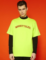 [SLOWACID] [UNISEX] Arc Moneytalks Short T (neon)