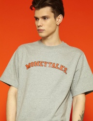 [SLOWACID] [UNISEX] Arc Moneytalks Short T (grey)