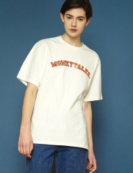 [SLOWACID] [UNISEX] Arc Moneytalks Short T (white)