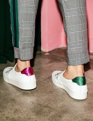 [HATISS] JUPLITER WHITE SLIP ON