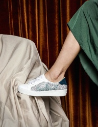 [HATISS] CLIO WHITE SNEAKERS