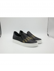 [HATISS] NOTOS BLACK SLIP ON