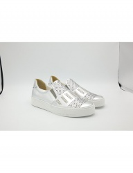 [HATISS] NOTOS SILVER SLIP ON