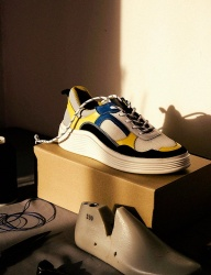 [HATISS] APOLLON YELLOW SNEAKERS