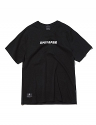 [GROOVERHYME] 2018 BACK TEXT PRINT T-SHIRTS [GTS052G23]