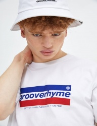 [GROOVERHYME] 2018 WATER PRINT LOGO T-SHIRTS [GTS053G23]