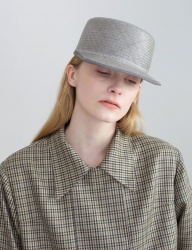 [AWESOME NEEDS] NATURAL HORSE RIDING CAP_GREY