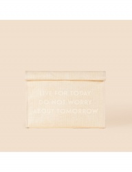 [WILD BRICKS] PULPWOOD CLUTCH BAG (ivory)