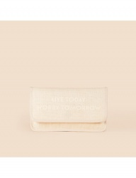 [WILD BRICKS] PULPWOOD MINI CLUTCH BAG (ivory)