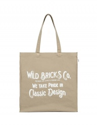 [WILD BRICKS] WTPC BAG (beige)