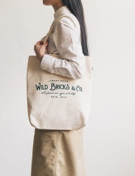 [WILD BRICKS] LOGO ECO BAG (green)