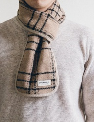 [WILD BRICKS] WOOL HC STOLE (beige)