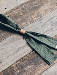 [WILD BRICKS] CT STRIPE SCARF (green)