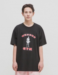 [WKNDRS] GYM TEE (BLACK)