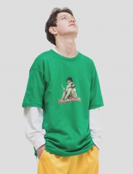 [WKNDRS] NAP QUEEN TEE (GREEN)