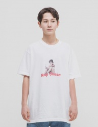 [WKNDRS] NAP QUEEN TEE (WHITE)