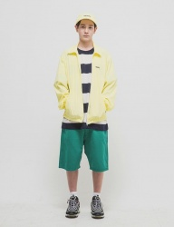[WKNDRS] OVERSIZED CHINO SHORTS (GREEN)