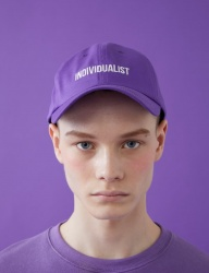 [MSKN2ND] INDIVIDUALIST BALL CAP ULTRA  VIOLET