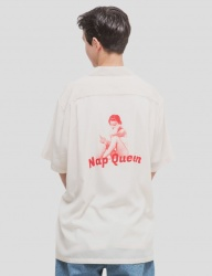 [WKNDRS] NAP QUEEN SHIRTS (IVORY)