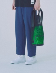 [WOOZO] 18 SS 25 wide banding pants (mint blue)