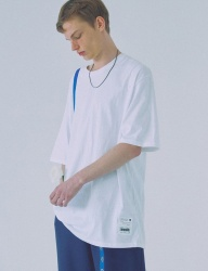 [WOOZO] 18 SS 18 overfit cotton shortsleeved tshirts (white)