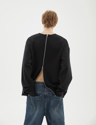 [INDIGO CHILDREN] OVERSIZED ALL BACK ZIP MTM