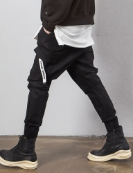 [STONYSTRIDE] CARGO JOGGER PANTS P911 COTTON [BLACK]