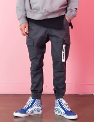 [STONYSTRIDE] CARGO JOGGER PANTS P911 COTTON [DEEP GRAY]