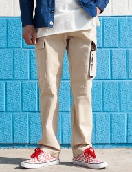 [STONYSTRIDE] REGULAR BAGGY CARGO PANTS P815 [IVORY]