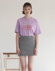 [TARGETTO] TGT LOGO T SHIRT LILAC