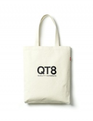 [QT8] TW QT8 Logo Eco Bag (Oatmeal)