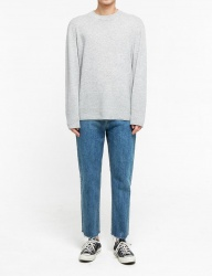[FATALISM] none brushstandard crop fit jeans