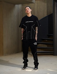 [NASTY PALM] [NYPM] DIMENSIONAL TEE (BLK)