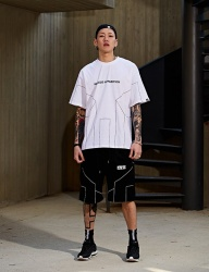 [NASTY PALM] [NYPM] DIMENSIONAL TEE (WHT)