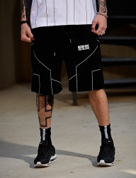 [NASTY PALM] [NYPM] DIMENSIONAL SHORT PANTS (BLK)