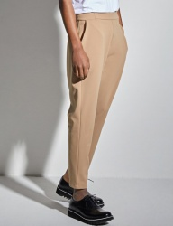 [VANDALIST] BAND SEMI BAGGY PANTS BEIGE