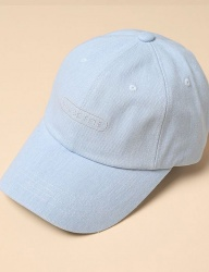 [uniere] Fete Cotton Cap (light denim)