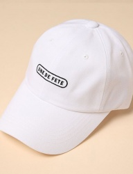 [uniere] Fete Cotton Cap (white)
