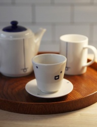 [SOROSI] Hangeul pattern teacup set(mieum)