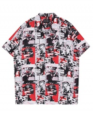 [SHETHIS COMMA] HIP PATCH SHIRTS(RED)