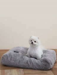 [Mely] Mely Cushion Fur Gray