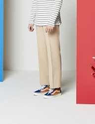 [SEWING BOUNDARIES] STRAIGHT FIT SLACKS BEIGE