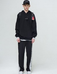 [THE GREATEST] OVERSIZE HOODIE BK